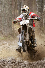 motocross bike rider